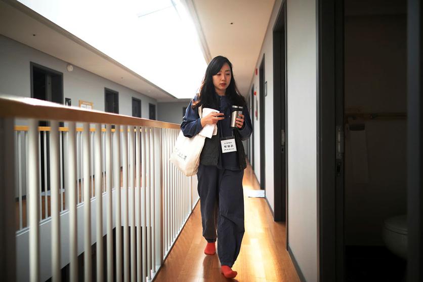fotos kim hong-ji prisiones voluntarias corea escape modernidad