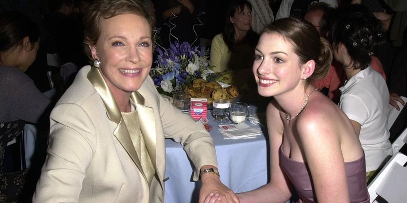 25 fotos del antes y después de Anne Hathaway 6