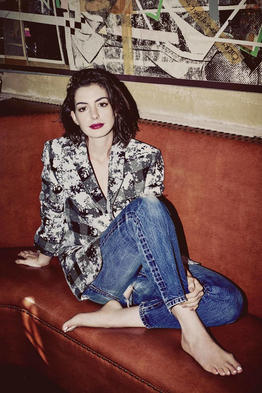 25 fotos del antes y después de Anne Hathaway 7
