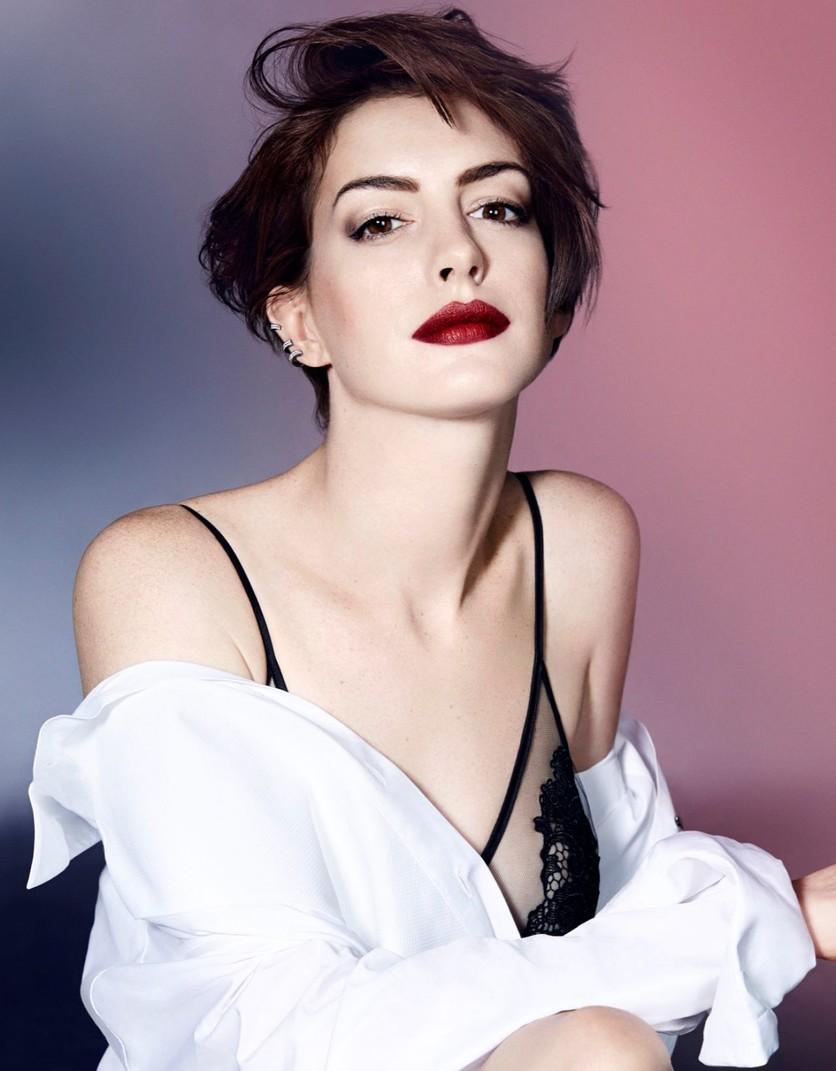 25 fotos del antes y después de Anne Hathaway 12