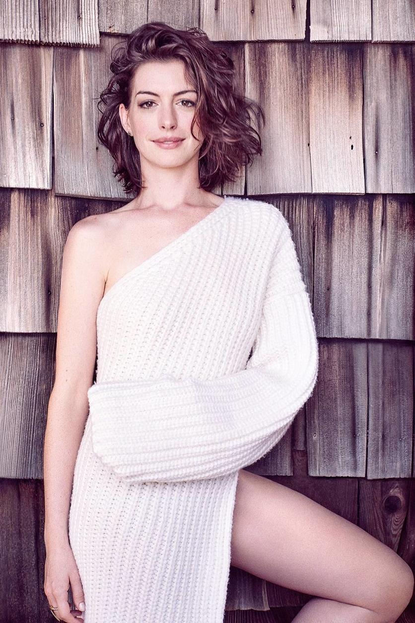 25 fotos del antes y después de Anne Hathaway 27