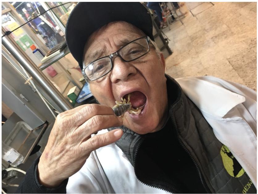 El mercado donde puedes comer tarántula, alacrán y león en la CDMX 1