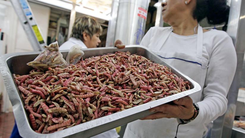 El mercado donde puedes comer tarántula, alacrán y león en la CDMX 2