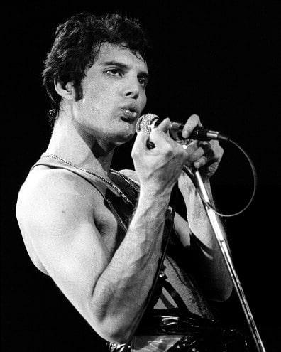 50 fotografías de la evolución de Freddie Mercury 8