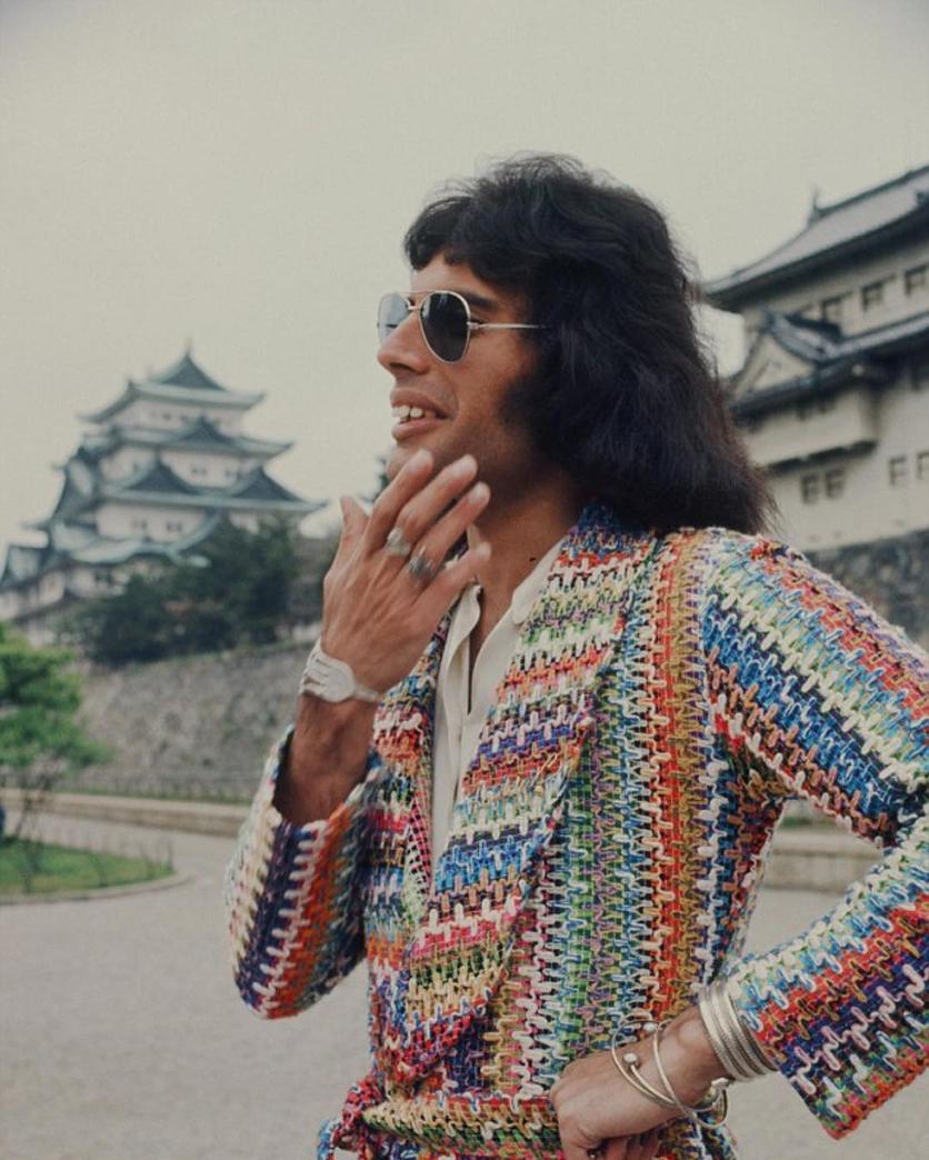50 fotografías de la evolución de Freddie Mercury 11