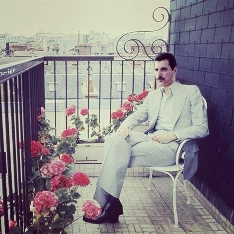 50 fotografías de la evolución de Freddie Mercury 26