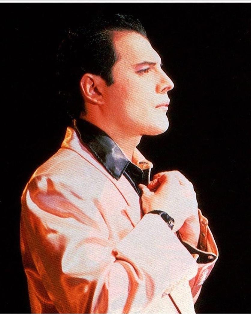 50 fotografías de la evolución de Freddie Mercury 47