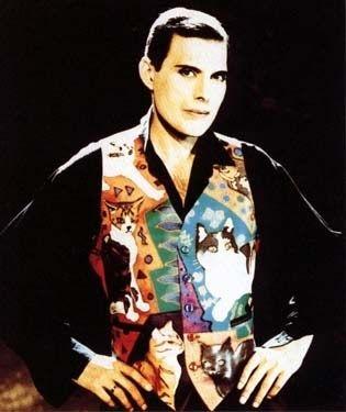 50 fotografías de la evolución de Freddie Mercury 48