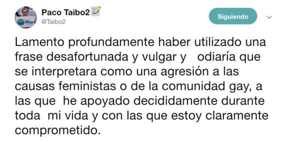 paco ignacio taibo ii pide disculpas por sus palabras 2
