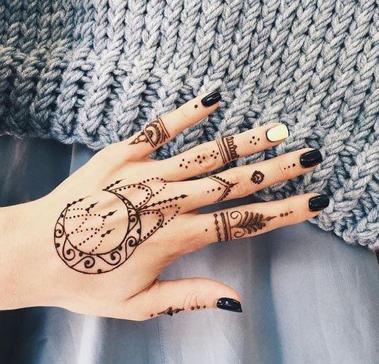 aprende a preparar tinta de henna