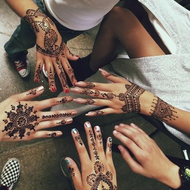 como hacer tinta de henna para tatuajes