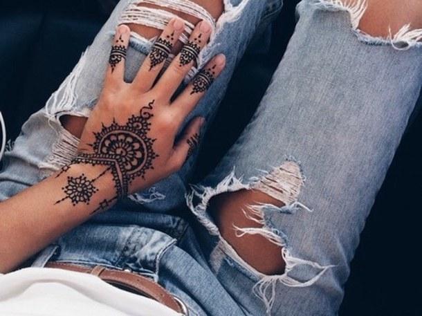 como se prepara la tinta de henna