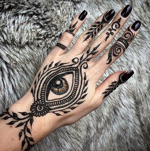 materiales para hacer tinta de henna