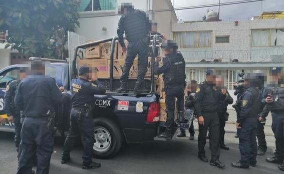 policia rescata a 81 animales en la colonia narvarte 1
