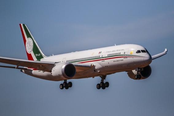 avion presidencial saldra de mexico para ser vendido 1