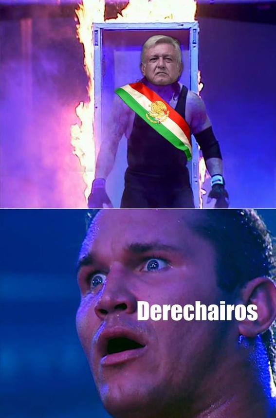 memes de eterna toma de protesta amlo 4