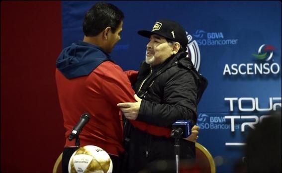 maradona a un paso de obtener su titulo como entrenador de los dorados de sinaloa 2