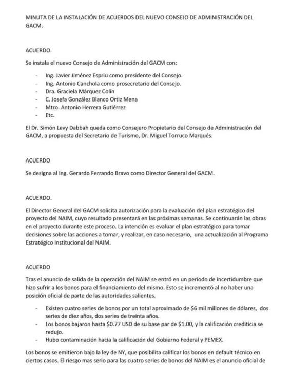 grupo aeroportuario decide continuar con obras del naim 2