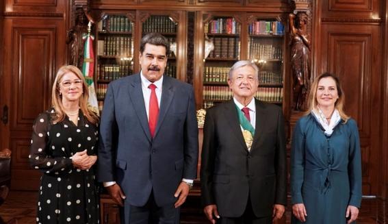 venezuela asegura un recibimiento apoteosico de maduro en mexico 3