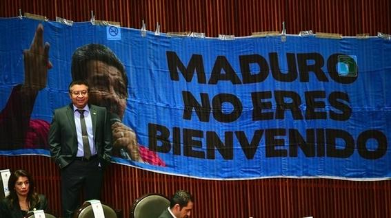 venezuela asegura un recibimiento apoteosico de maduro en mexico 2