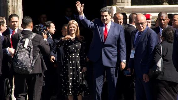 venezuela asegura un recibimiento apoteosico de maduro en mexico 1