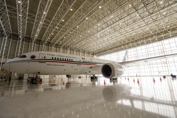 venta del avion presidencial de mexico 1