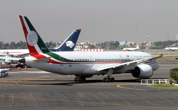 venta del avion presidencial de mexico 6