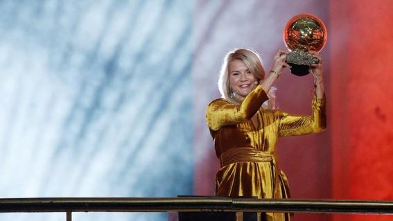 Mejores jugadas de Ada Hegerberg, la primera ganadora del Balón de Oro