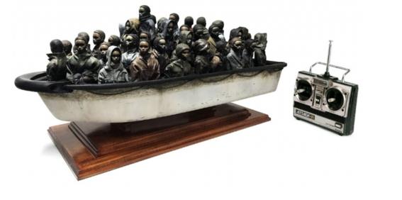 banksy refugiados rifa 3