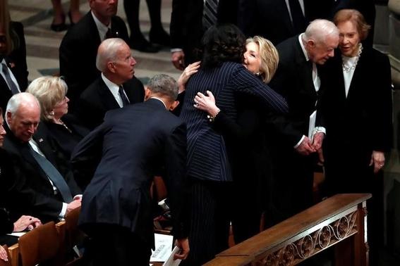 despiden con honores expresidente george h w bush 2