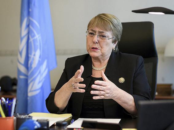Los migrantes tienen los mismos derechos humanos que todos los demás — Bachelet