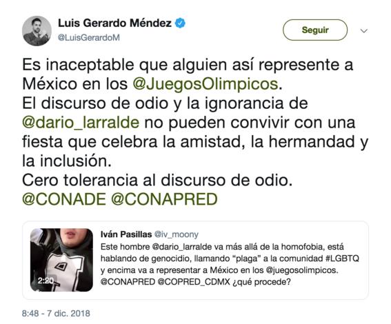 luis gerardo mendez responde a declaraciones homofobicas de dario larralde 1