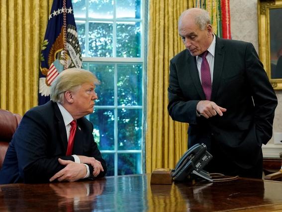 trump despide a su jefe de gabinete john kelly 2