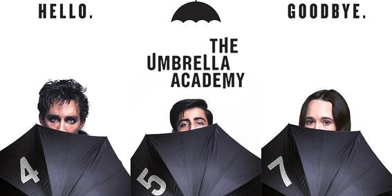 netflix lanza teaser de the umbrella academy 1