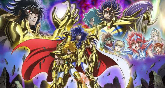 anuncian lanzamiento de las caballeras del zodiaco con el anime saintia sho 1