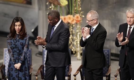 denis mukwege y nadia murad reciben premio nobel de la paz 1