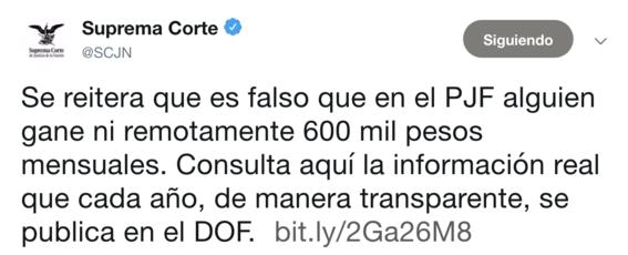 scjn niega que ganen 600 mil pesos como dice amlo 2