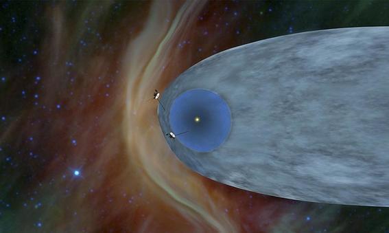 La nave Voyager 2 de la NASA llega al espacio interestelar — Histórico