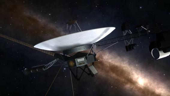 sonda voyager llega al espacio despues de 41 anos de ser lanzada 2
