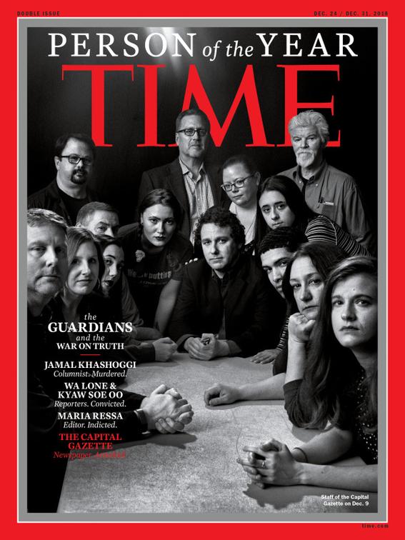 time nombra persona del ano a grupo de periodistas 4