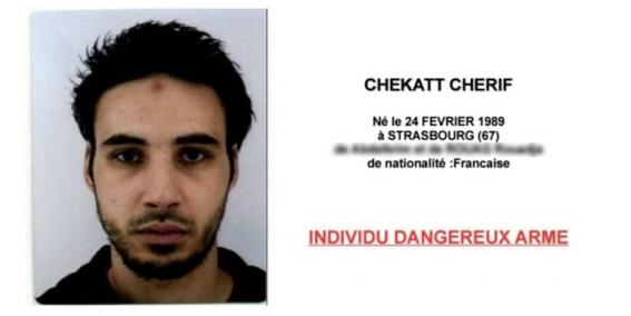 autoridades francesas buscan al atacante del tiroteo en estrasburgo 1