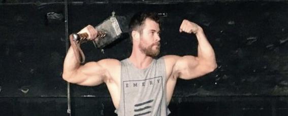 La intensa rutina de ejercicio de Chris Hemsworth para tener cuerpo de dios