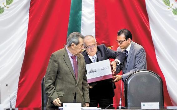 presentan paquete economico 2019 al congreso presupuesto amlo 1