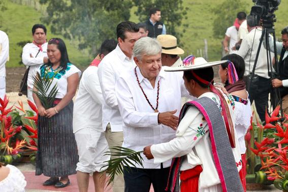 celebran ritual a madre tierra para construccion del tren maya 1