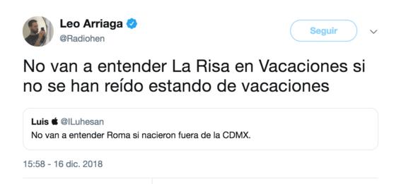 no van a entender roma si nacieron fuera de cdmx el tuit 4