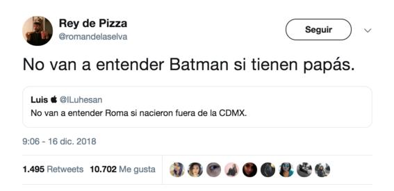 no van a entender roma si nacieron fuera de cdmx el tuit 5