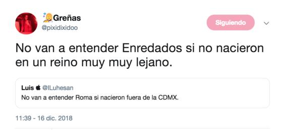 no van a entender roma si nacieron fuera de cdmx el tuit 6