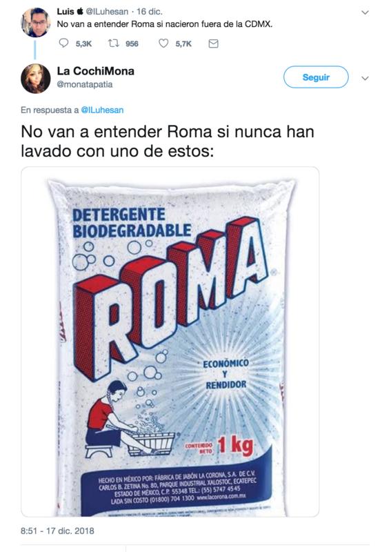 no van a entender roma si nacieron fuera de cdmx el tuit 7