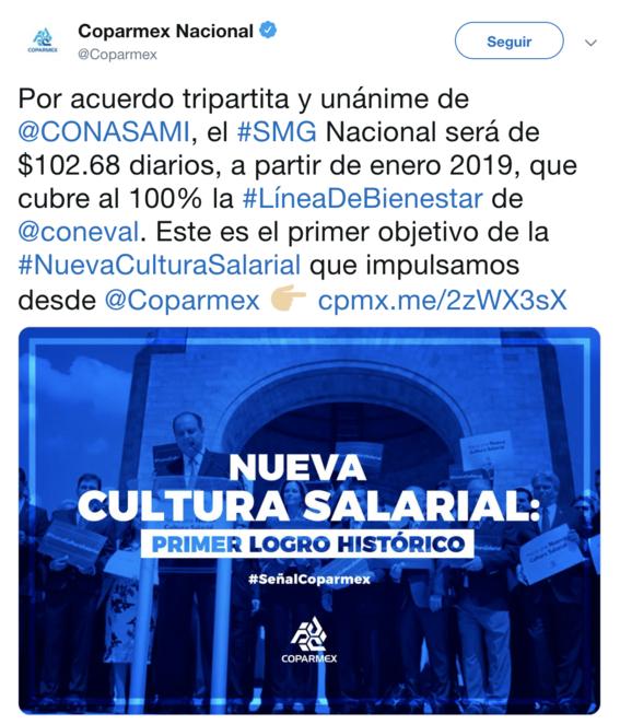 en 2019 salarios en mexico aumentaran 109 y 176 pesos 4