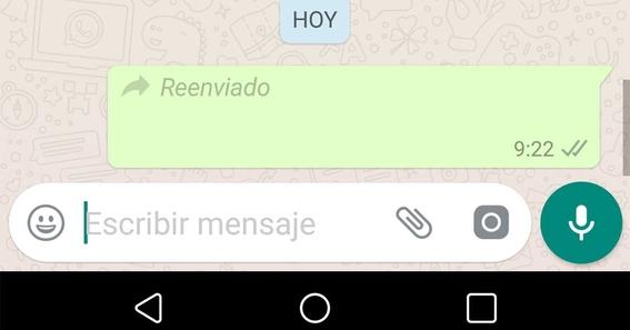 whatsapp limita el reenvio de mensajes a solo cinco personas 1